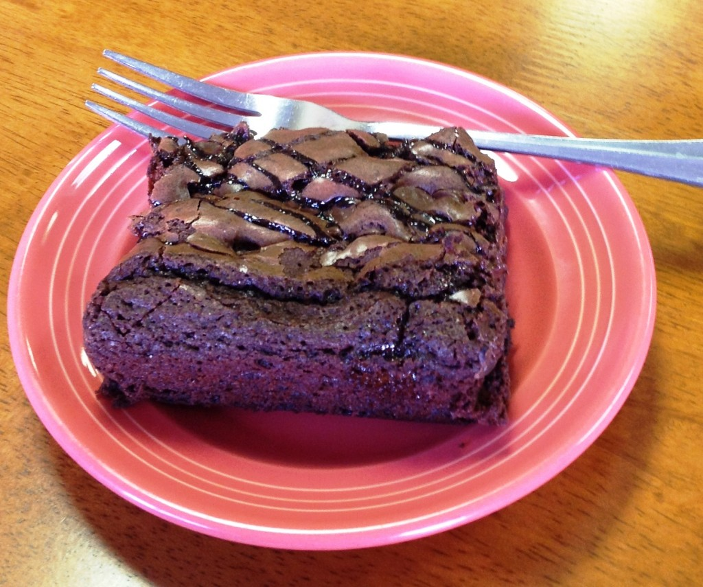 Baker's Cafe Fudge Brownie