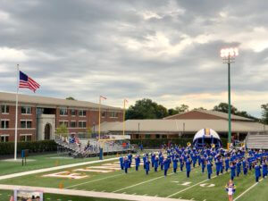 Visit Findlay Blogger Ashley shares why her family makes attending Findlay High School football games a priority - no matter the weather! • VisitFindlay.com
