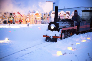 Celebrate Christmas Weekend in Findlay! Go Caroling in Dorney Plaza, take a ride on the North Pole Express and check out the luminaries on South Main Street • VisitFindlay.com