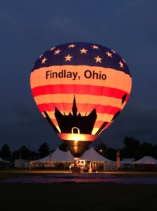 Visit Findlay's Alissa explains the process of designing and creating the new Visit Findlay balloon for Findlay, Ohio!  •  VisitFindlay.com